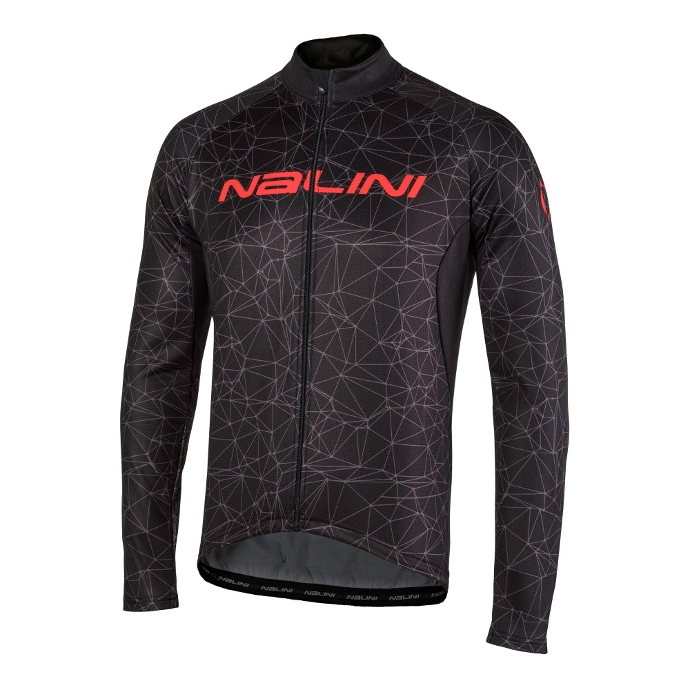 bluza-kolarska-nalini-logo-TI-czarno-czerwona-4000