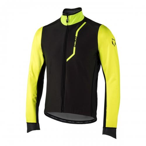 Wodoodporna kurtka kolarska Nalini Pro Gara czarno żółta 4050