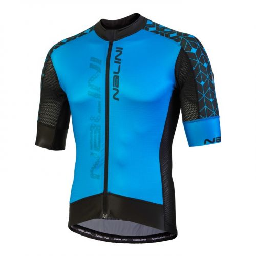 Koszulka kolarska Nalini Velocita niebiesko-czarna 4200