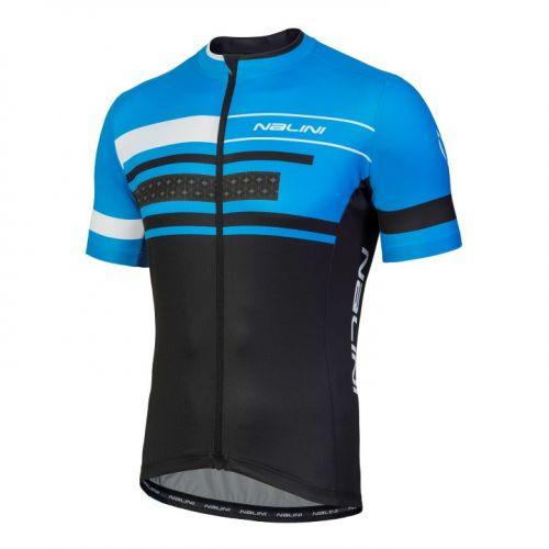 Koszulka kolarska Nalini Vittoria niebiesko-czarna 4200