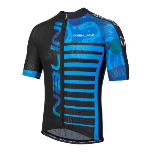 Koszulka kolarska MTB Nalini Cross niebiesko-czarna 4200