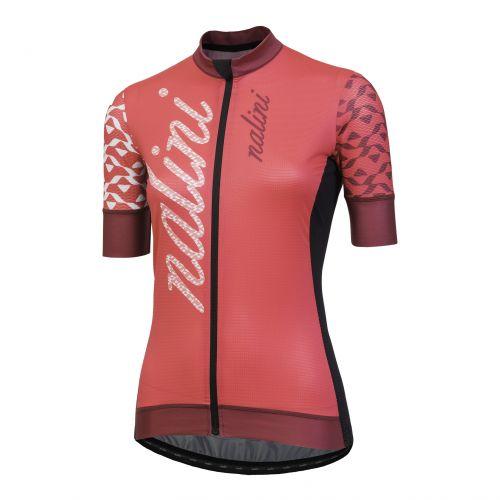 Koszulka kolarska damska Nalini Stilosa różowa 4120