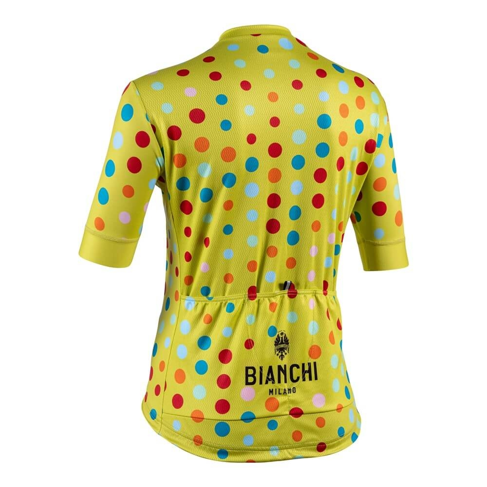 Koszulka kolarska Bianchi Silis 4330 bk