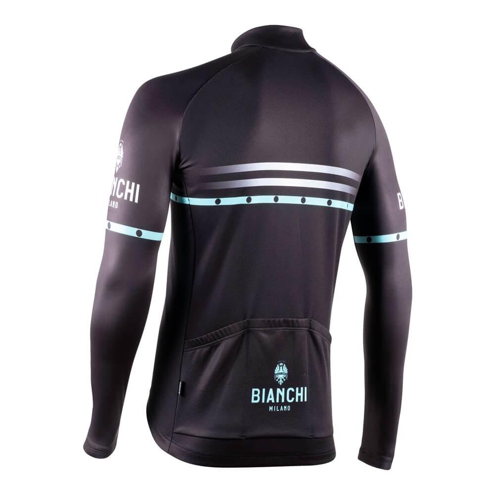Bluza kolarska Bianchi Milano Piantedo 4000 bk