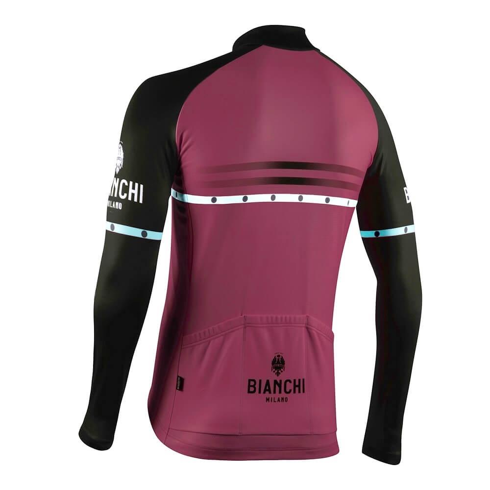 Bluza kolarska Bianchi Milano Piantedo 4100 bk