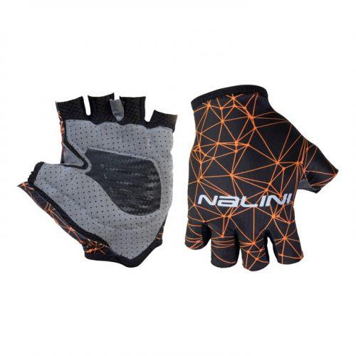 Rękawiczki kolarskie Nalini Vetta czarno-pomarańczowe 4150