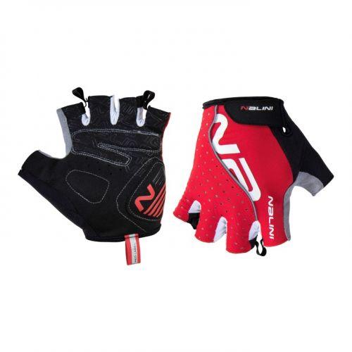 Rękawiczki kolarskie Nalini Red czerwone 4100
