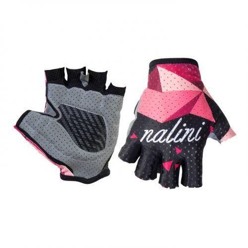 Rękawiczki kolarskie damskie Cima Lady różowo-czarne 4000