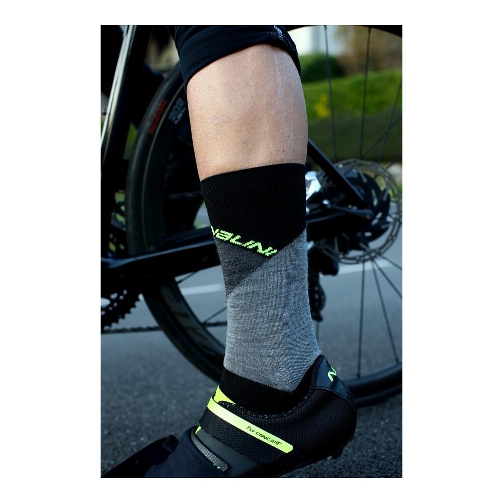 Skarpetki kolarskie Nalini B0W Wool 4100 II