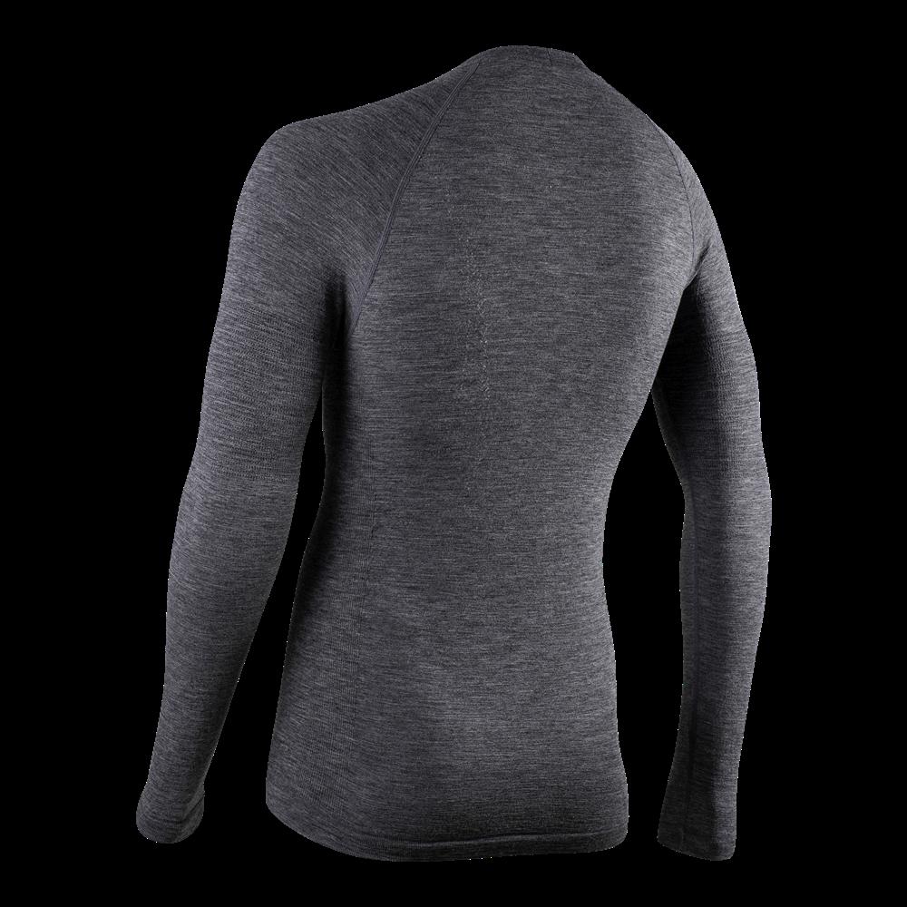 Podkoszulek rowerowy męski Wool Thermal LS 4010 bk