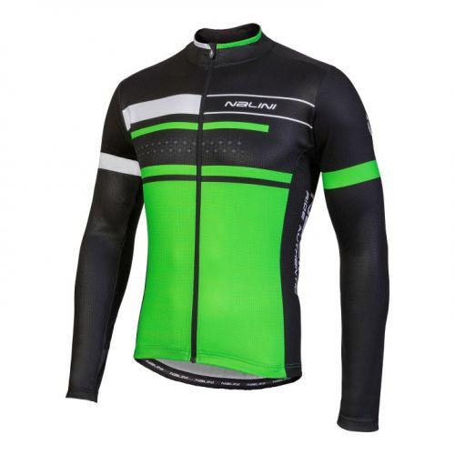 Bluza kolarska Nalini Fatica zielono-czarna 4400