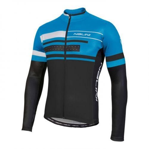 Bluza kolarska Nalini Fatica niebiesko-czarna 4200