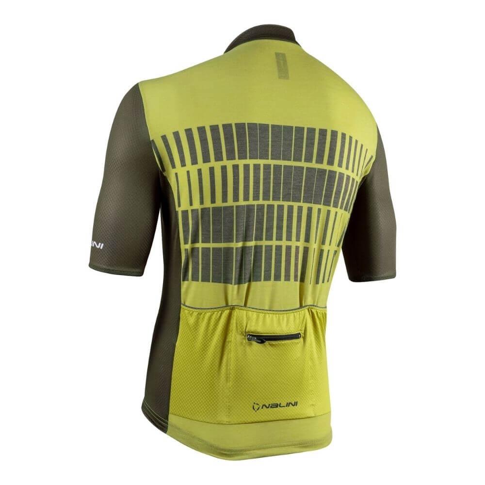 Koszulka kolarska Bas Wool SS 4220 tyl