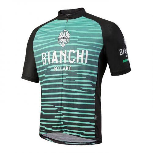 Koszulka kolarska MTB Bianchi Milano Tarugo