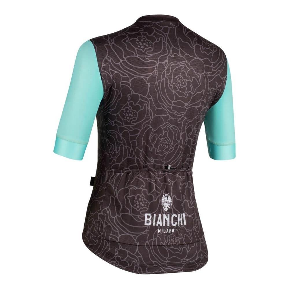 Koszulka kolarska Bianchi Sosio 4000 tyl
