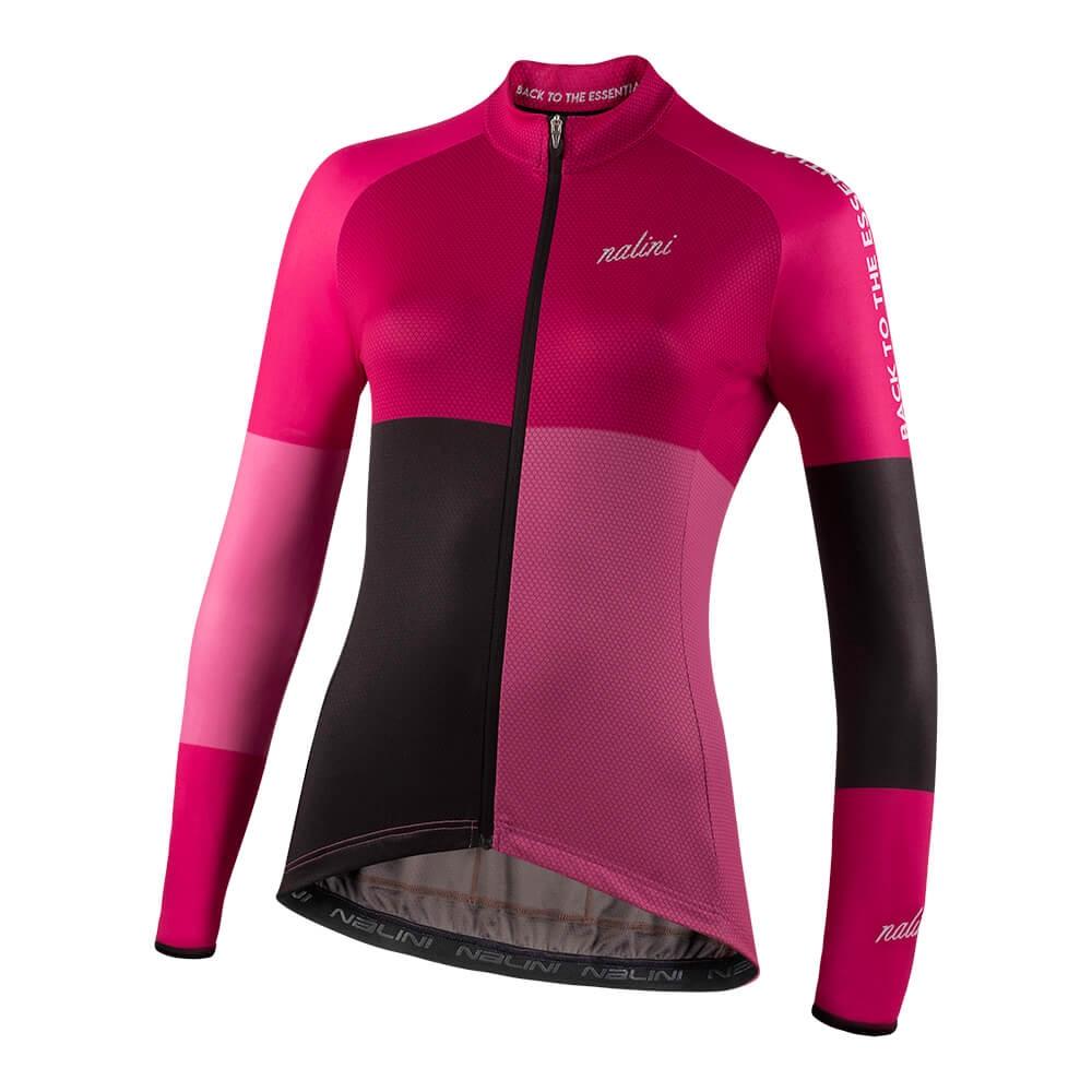 Bluza kolarska Nalini LS Color Jersey Lady 4700