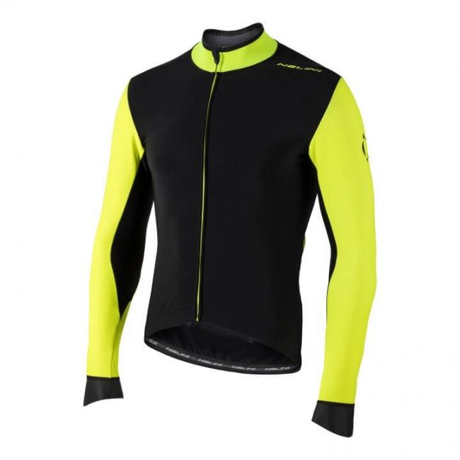 Bluza kolarska Nalini Pro Gara czarno zolta 4050_4050_front (Custom)