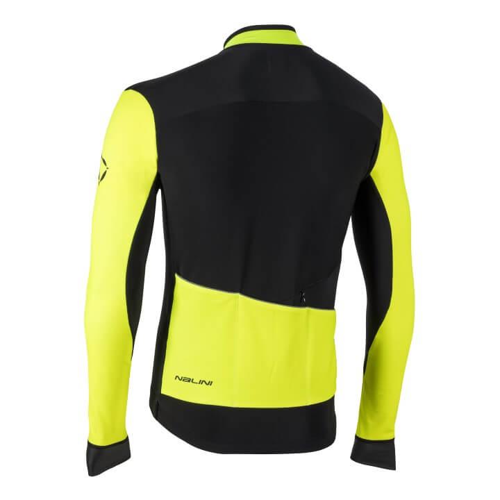 Bluza kolarska Nalini Pro Gara czarno zolta 4050_4050_back (Custom)