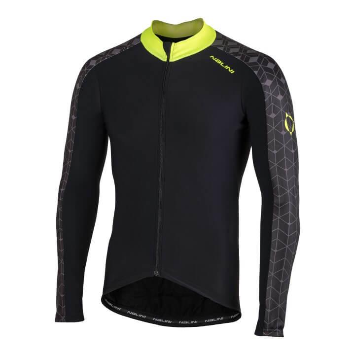 Bluza kolarska Nalini W czarno zolta 4050_NalWJersey_4050_front (Custom)