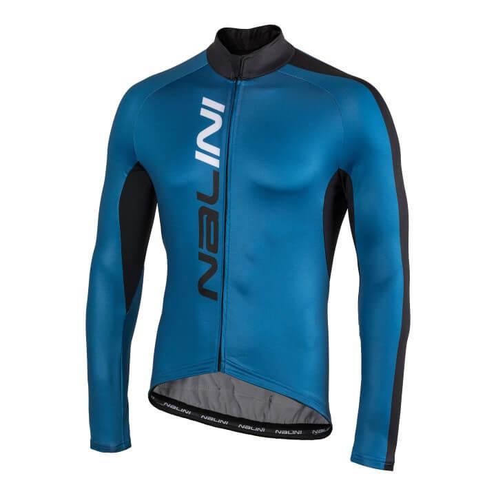 Bluza kolarska Nalini LW niebiesko czarna 4200_4200_fr (Custom)