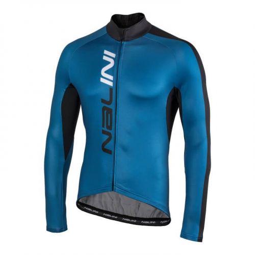Bluza kolarska Nalini LW niebiesko czarna 4200