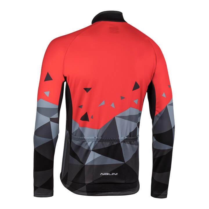 Bluza-kolarska-Nalini-Logo-czarno-czerwona-4100_4100_back-(Custom)