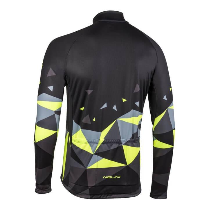 Bluza kolarska Nalini Logo czarno zolta 4050_4050_back (Custom)