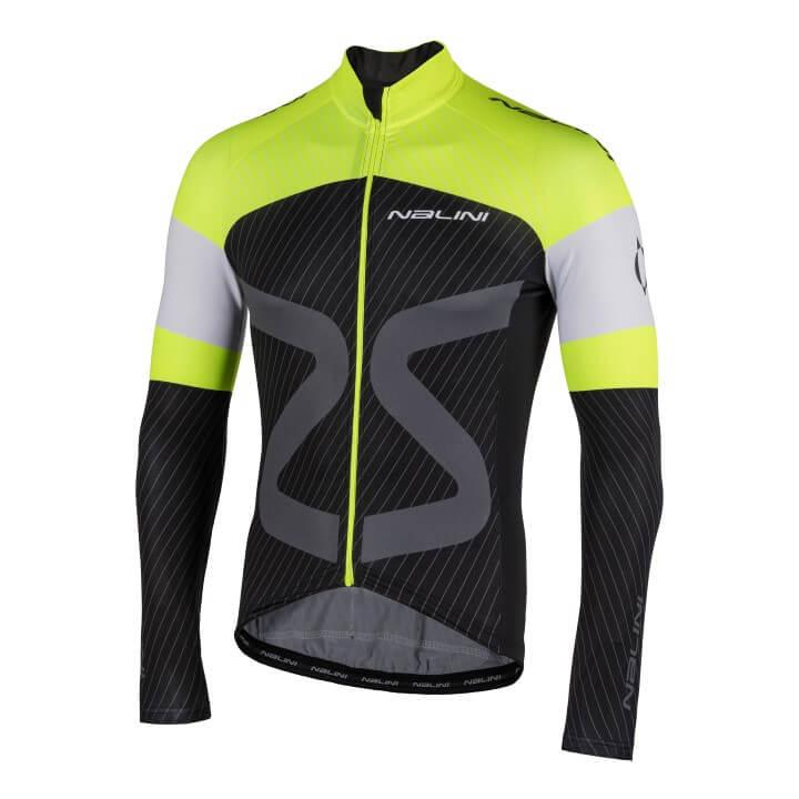 Bluza kolarska Nalini TC LS czarno zolta 4050_TCTi_4050_front (Custom)