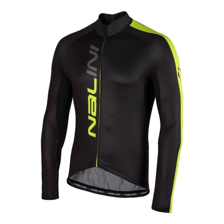 Bluza kolarska Nalini LW czarno zolta 4050_4050_fr (Custom)