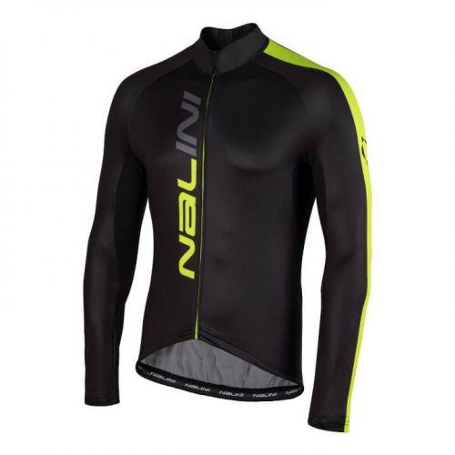 Bluza kolarska Nalini LW czarno żółta 4050