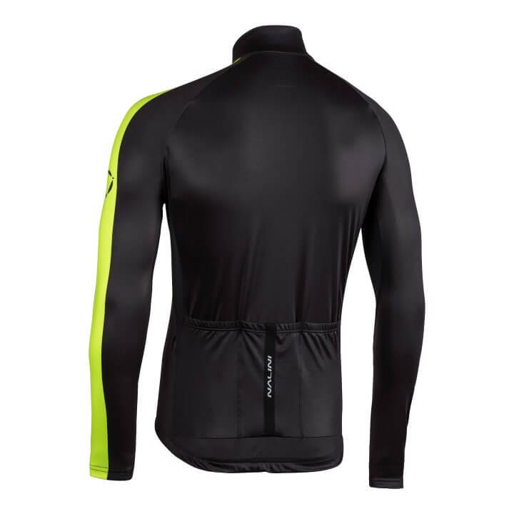 Bluza kolarska Nalini LW czarno zolta 4050_4050_back (Custom)