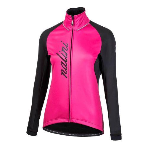 Wodoodporna kurtka kolarska damska Nalini Crit różowo-czarna 4700