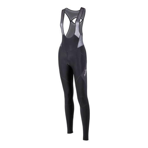 Damskie spodnie kolarskie Lady Bib Tights czarne 4000
