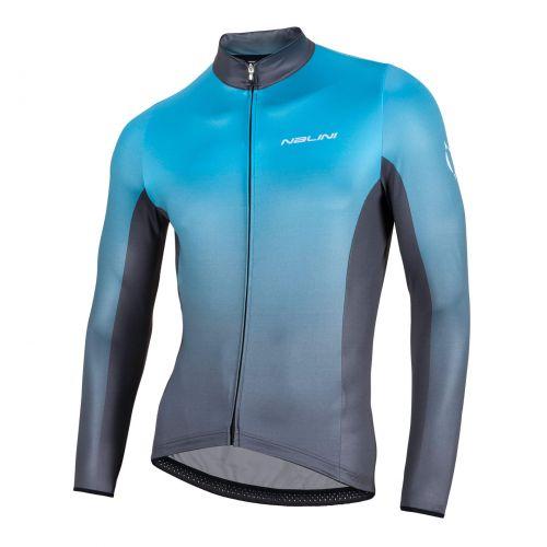 Bluza kolarska Nalini Mizar niebieska